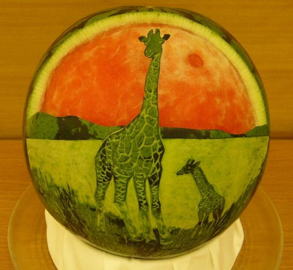Pics of amazing fruit art you will love to see mojly